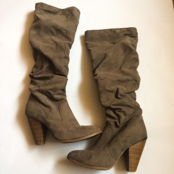 06e6eb29fdc0 Charlotte Russe Shoes - Charlotte Russe Ruched Pointed Toe Boots
